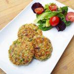 Koolhydraatarme broccoli burgers